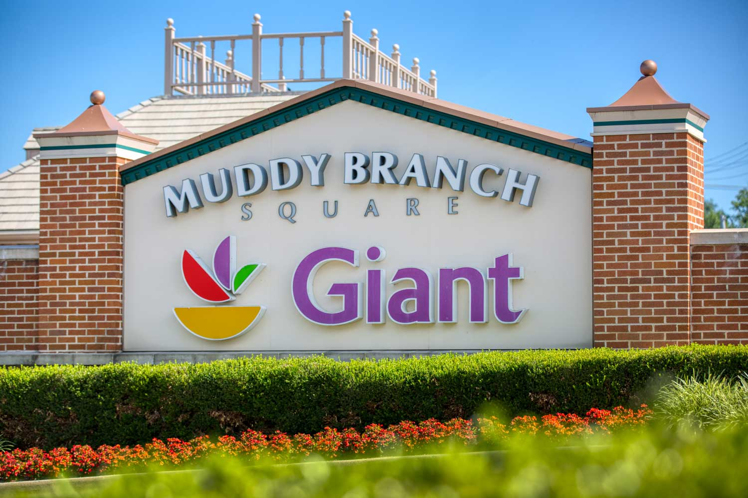 Giant Food is 5 minutes from Governor Square Apartments in Gaithersburg, MD