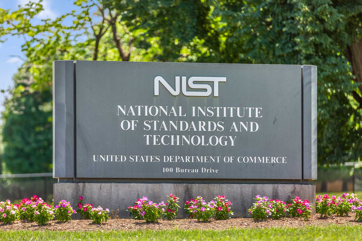NIST is across the street from Governor Square Apartments in Gaithersburg, MD