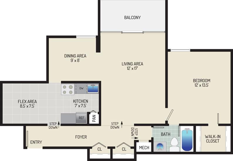 Governor Square Apartments - Apartment 23433-303-E1