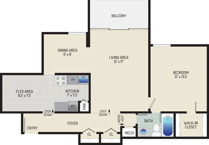 Governor Square Apartments - Apartment 23415-103-E1