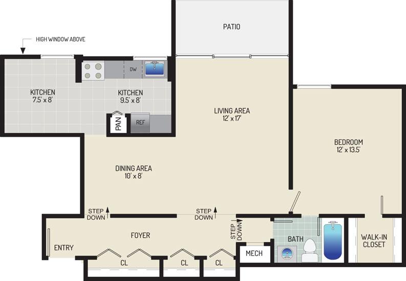 Governor Square Apartments - Apartment 23417-T3-H1