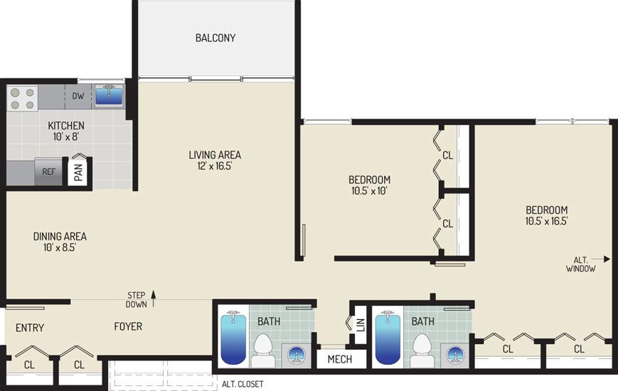 Governor Square Apartments - Apartment 23421-201-J1