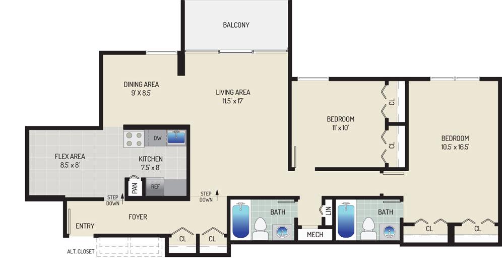 Governor Square Apartments - Apartment 23427-203-M