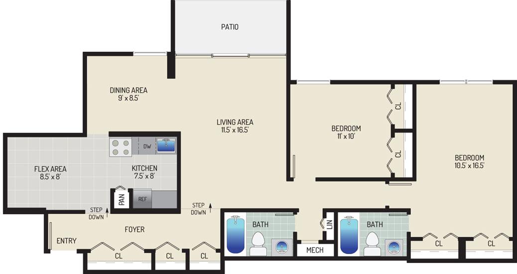 Governor Square Apartments - Apartment 23423-T3-O