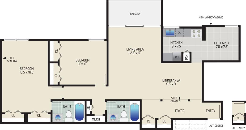 Governor Square Apartments - Apartment 23411-202-P