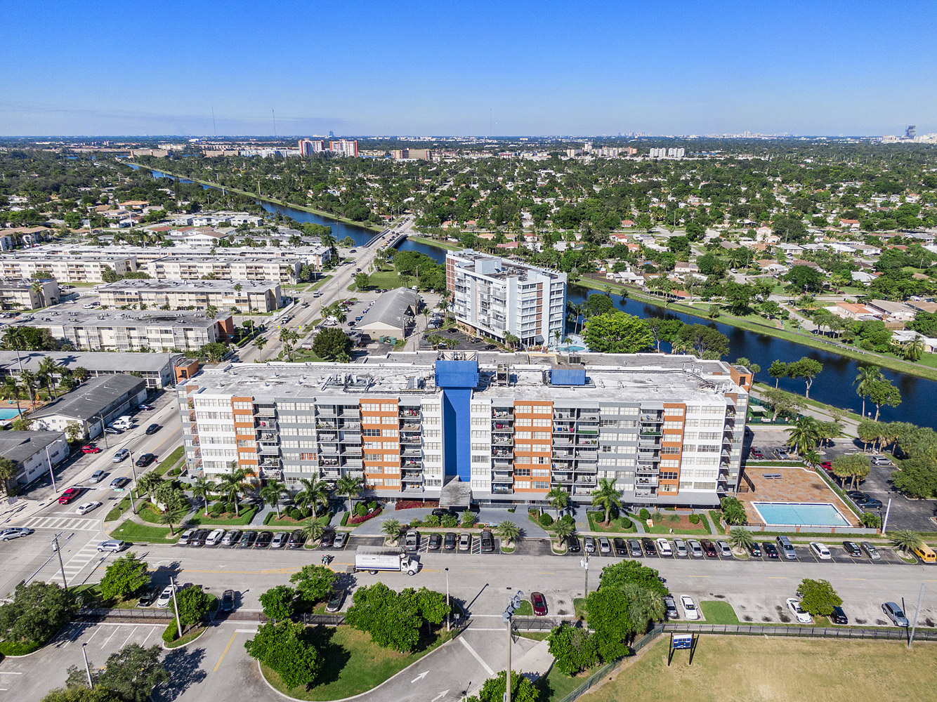 Large Apartments  at Grand Island Square Apartments in North Miami Beach, Florida