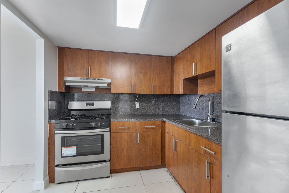 Fully Equipped Kitchen  at Grand Island Square Apartments in North Miami Beach, Florida