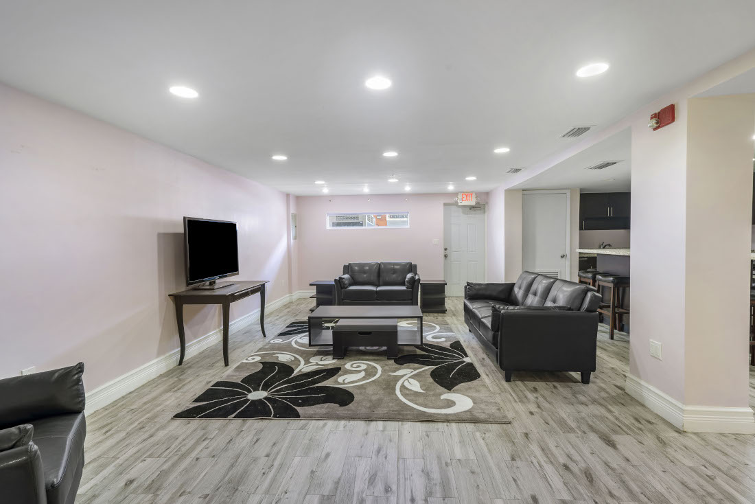 Spacious Living Area  at Grand Island Square Apartments in North Miami Beach, Florida