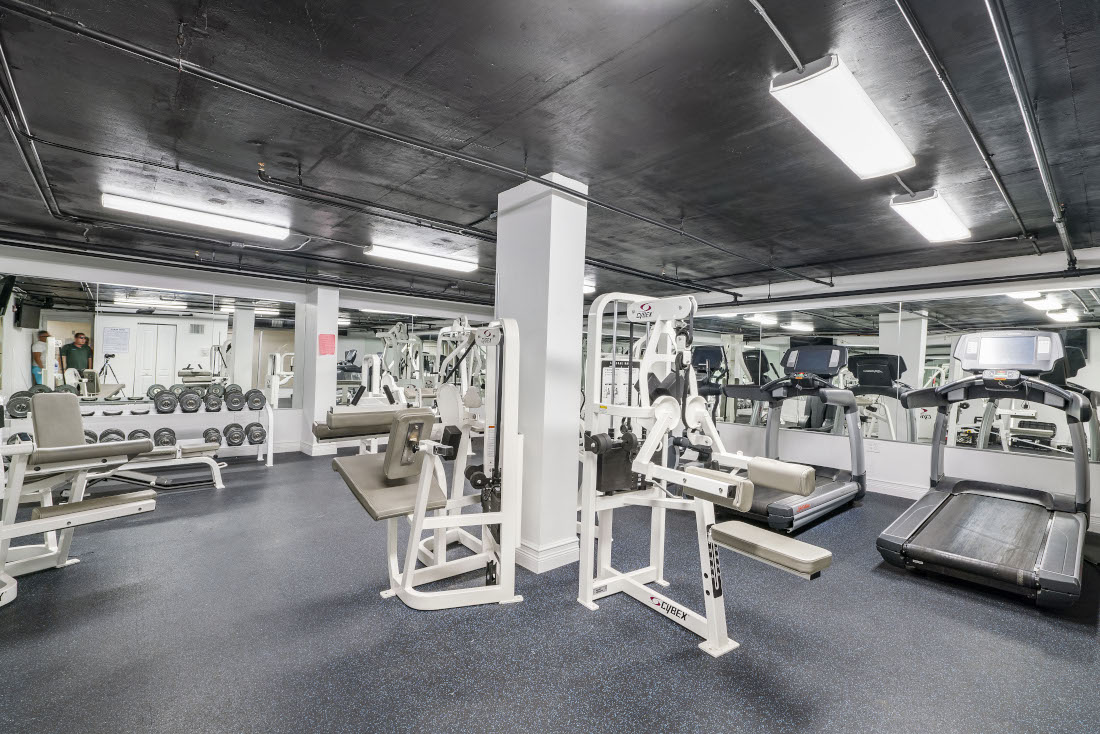 Fitness Center  at Grand Island Square Apartments in North Miami Beach, Florida