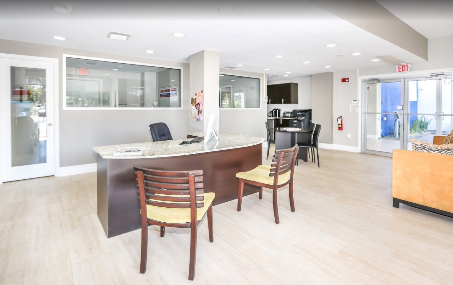 Charming Resident Office at Grand Island Square Apartments in North Miami Beach, Florida