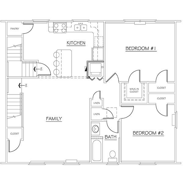 Floorplan - 2BR image