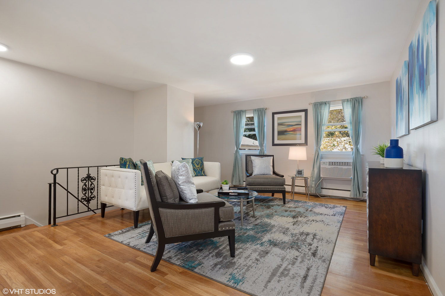 Spacious Living Room at Grandview Gardens Apartments in Edison, New Jersey