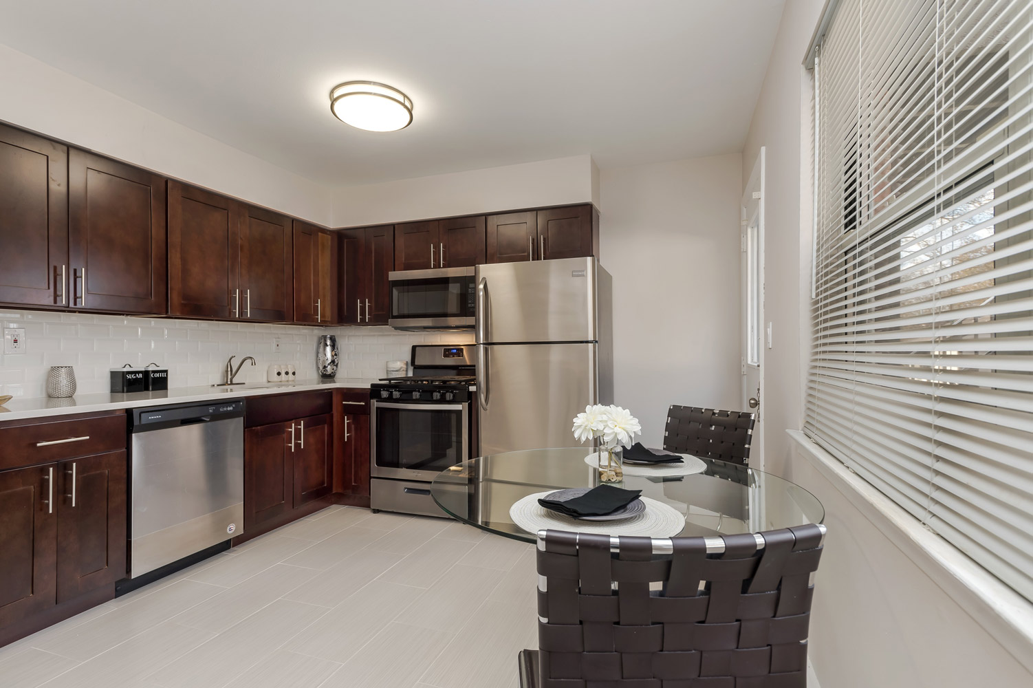 Stainless Steel Appliances at Grandview Gardens Apartments in Edison, New Jersey