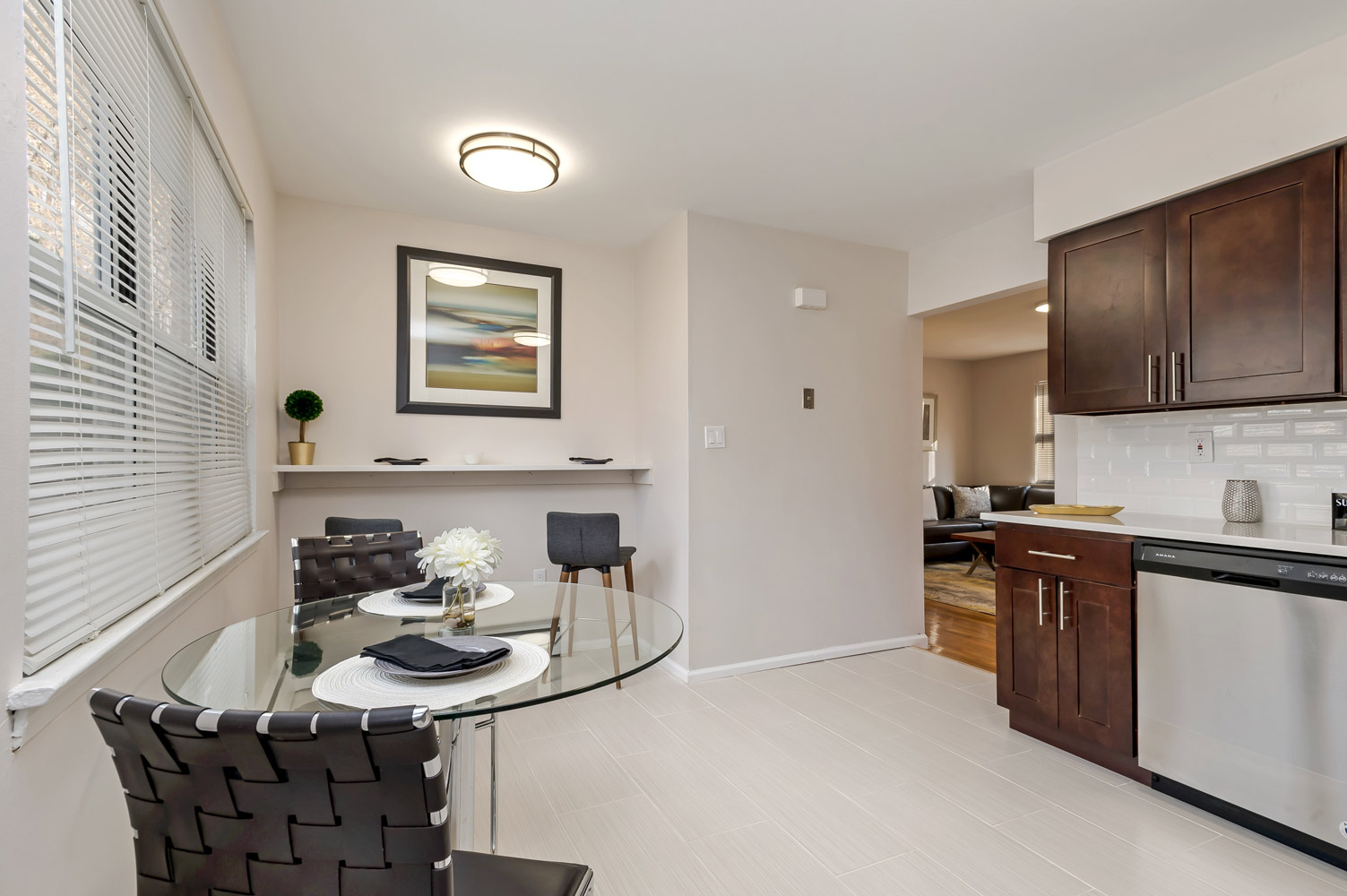 Cabinetry at Grandview Gardens Apartments in Edison, New Jersey