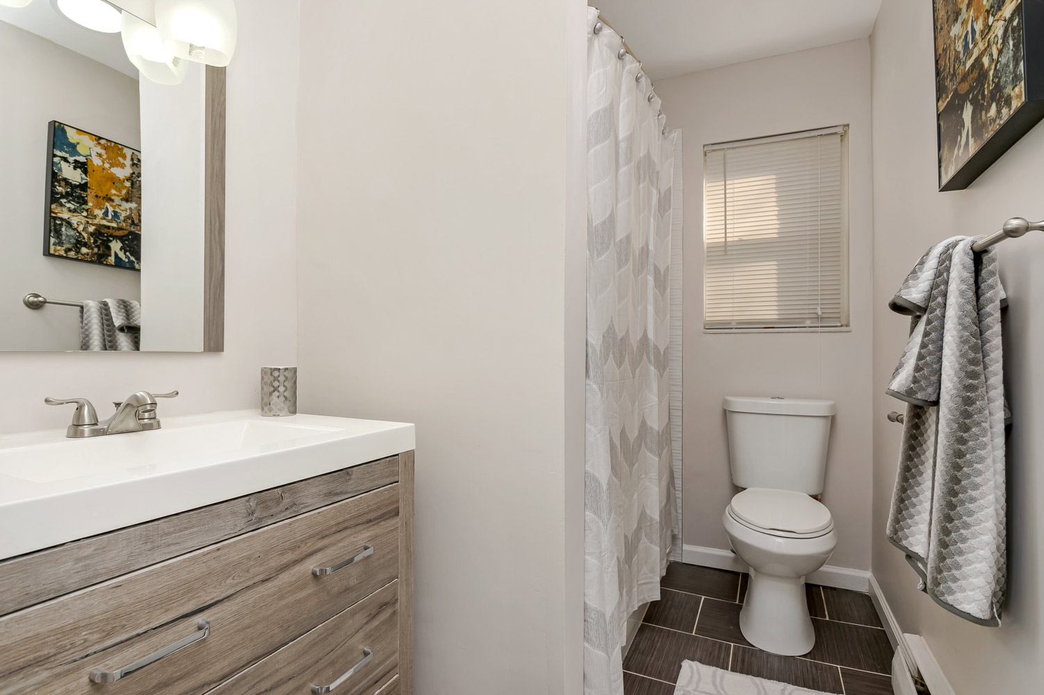Single Vanity at Grandview Gardens Apartments in Edison, New Jersey