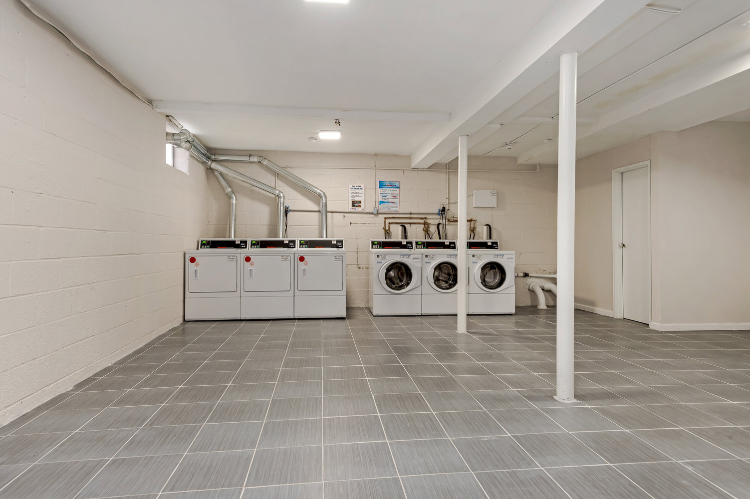 Laundry Area at Grandview Gardens Apartments in Edison, New Jersey