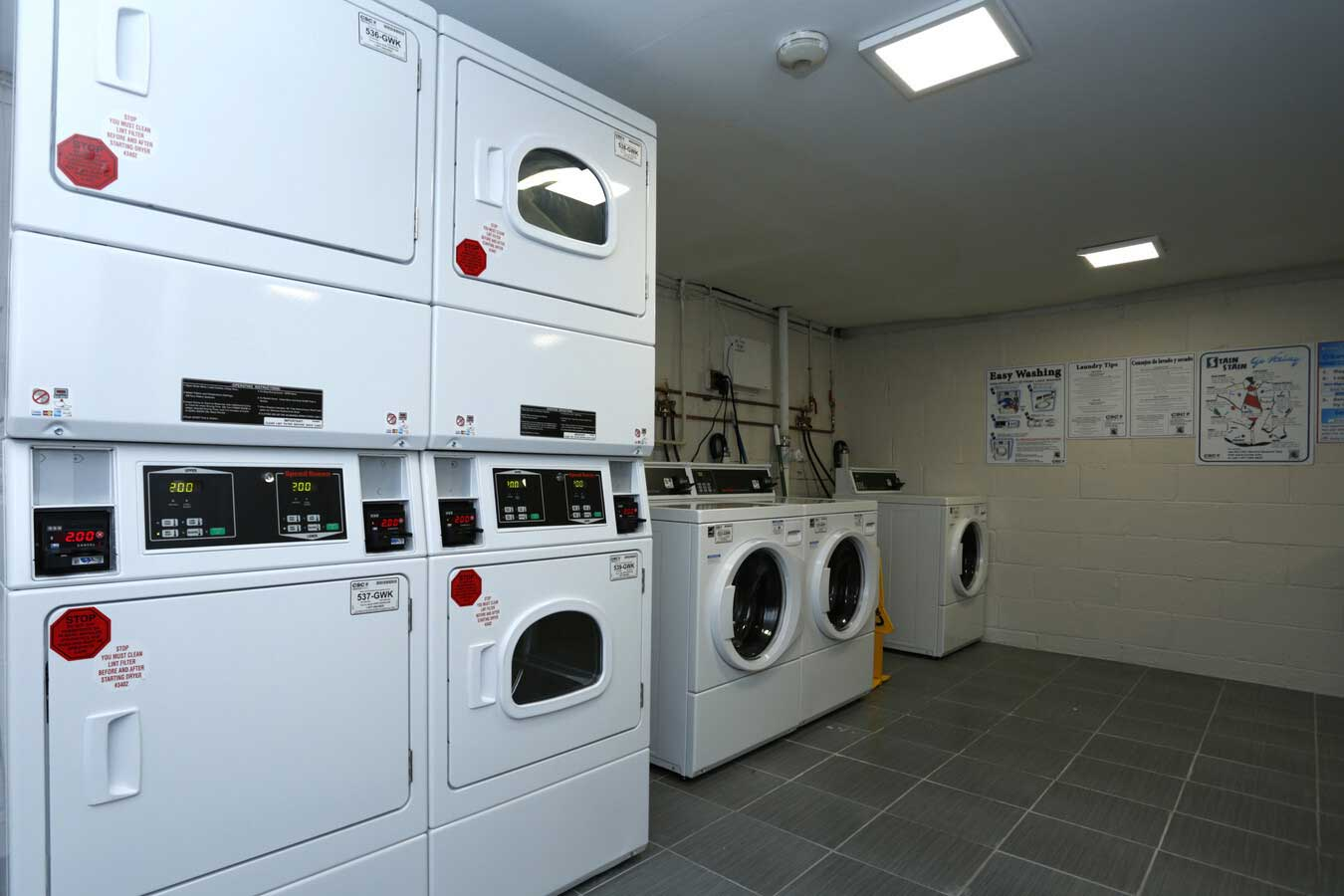 Laundry Facilities Available at Grandview Gardens Apartments in Edison, New Jersey