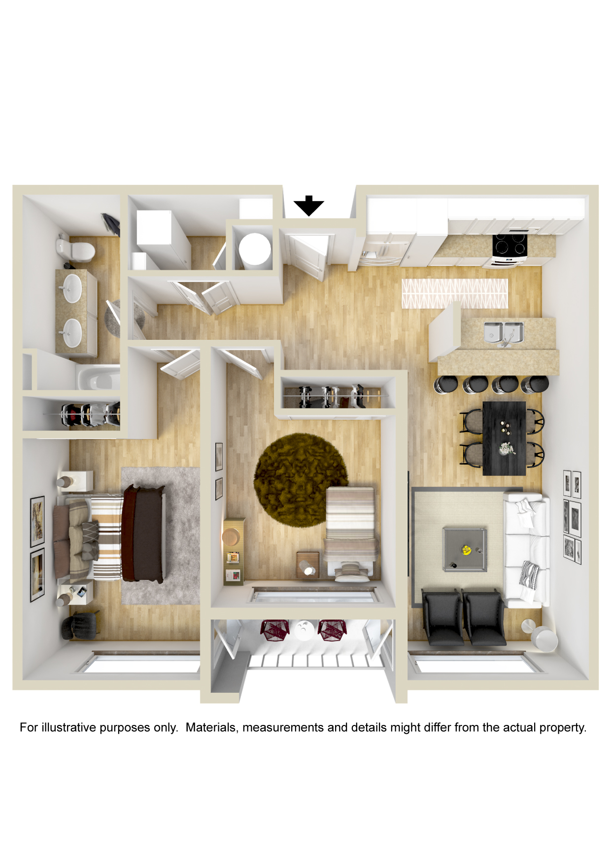 Floorplan - Archer Balcony image