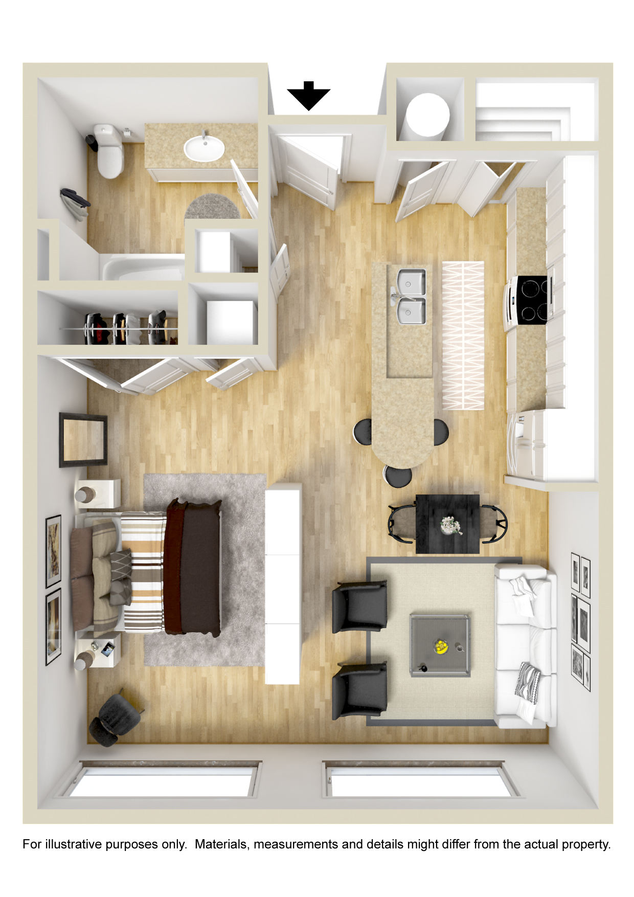 GreenArch Apartments Tulsa - Floorplan - Greenwood
