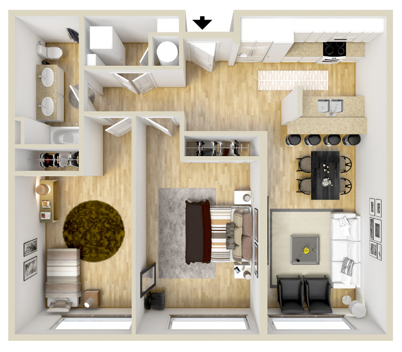 Floorplan - Archer image