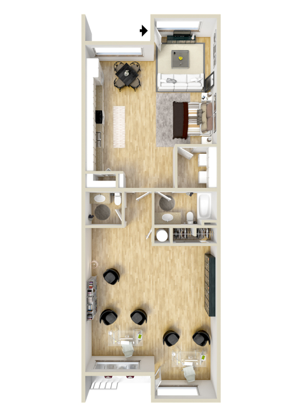 Floorplan - Franklin image