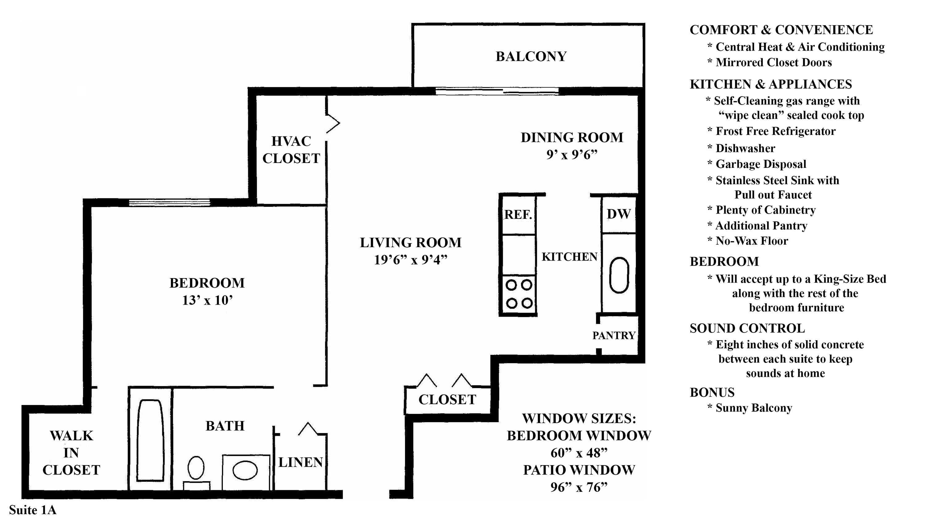Floorplan  at the Greenridge on Euclid Apartments in Euclid, OH