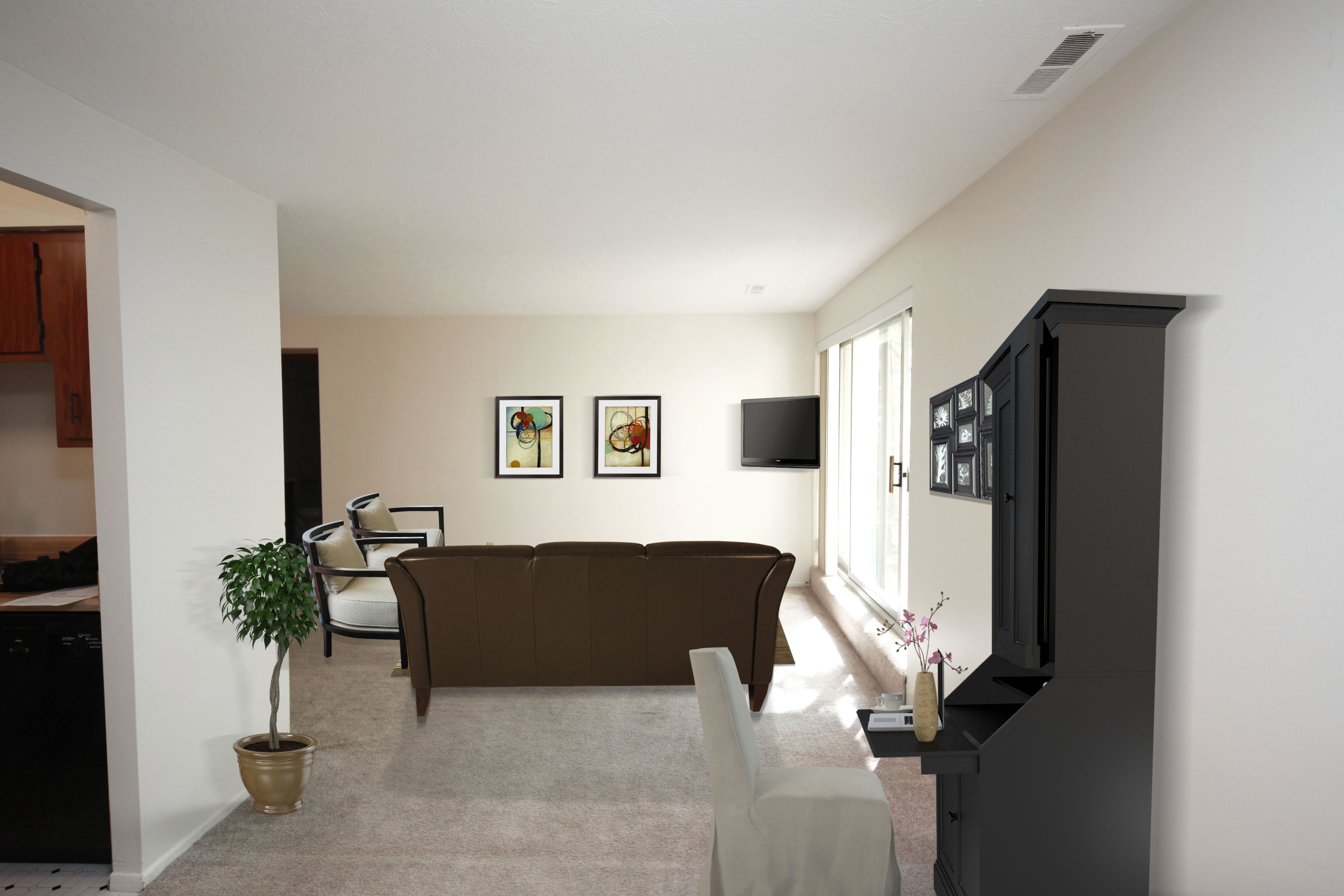2C Entry Furnished at the Greenridge on Euclid Apartments in Euclid, OH