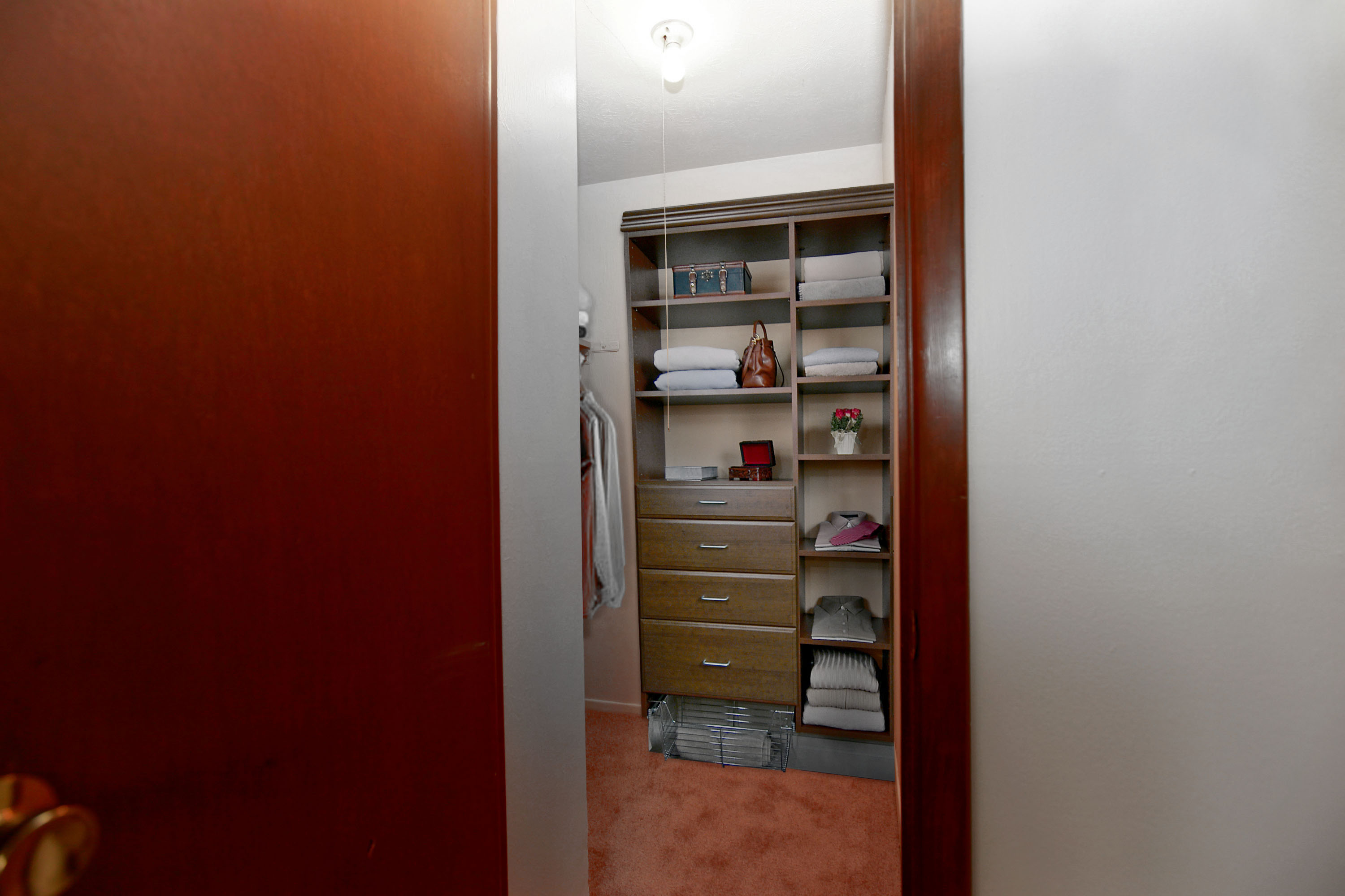 1C Walk-in Closet at the Greenridge on Euclid Apartments in Euclid, OH