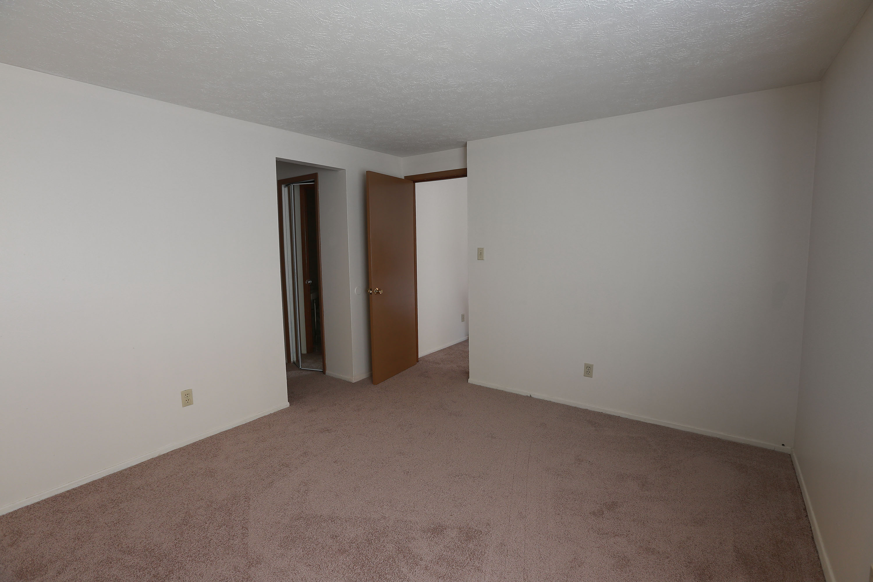 2C Bedroom #1 at the Greenridge on Euclid Apartments in Euclid, OH