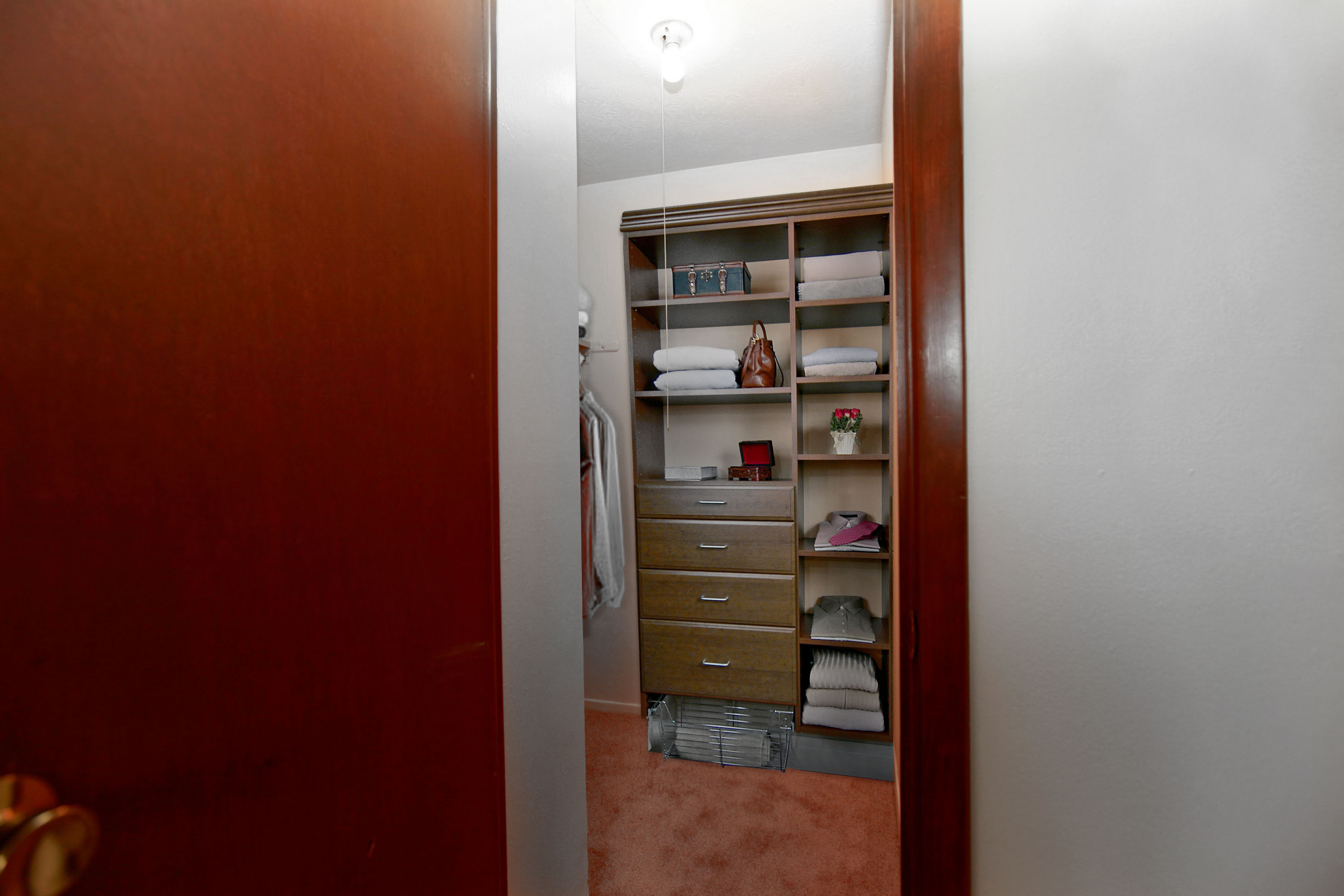 1B Walk-in Closet at the Greenridge on Euclid Apartments in Euclid, OH