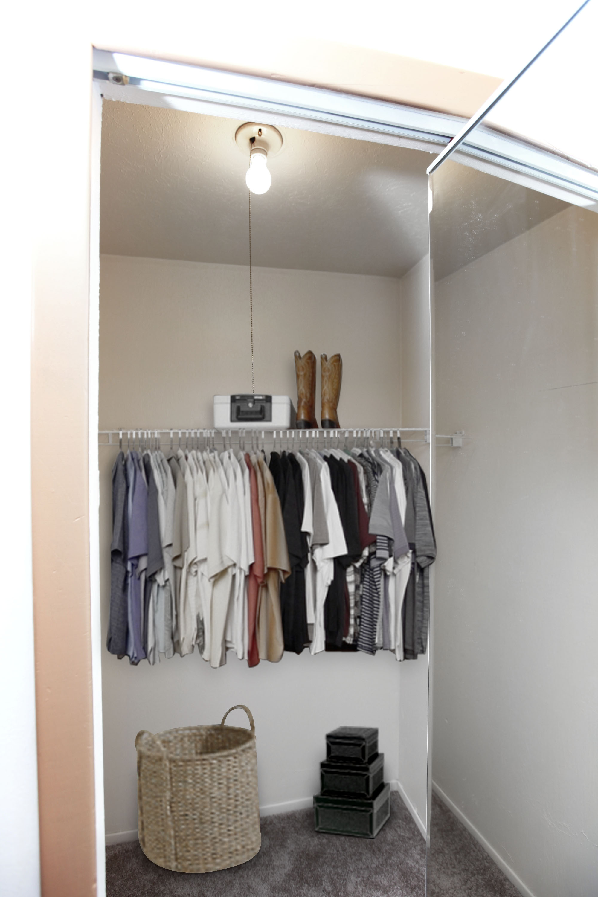 2B Walk-in Closet at the Greenridge on Euclid Apartments in Euclid, OH