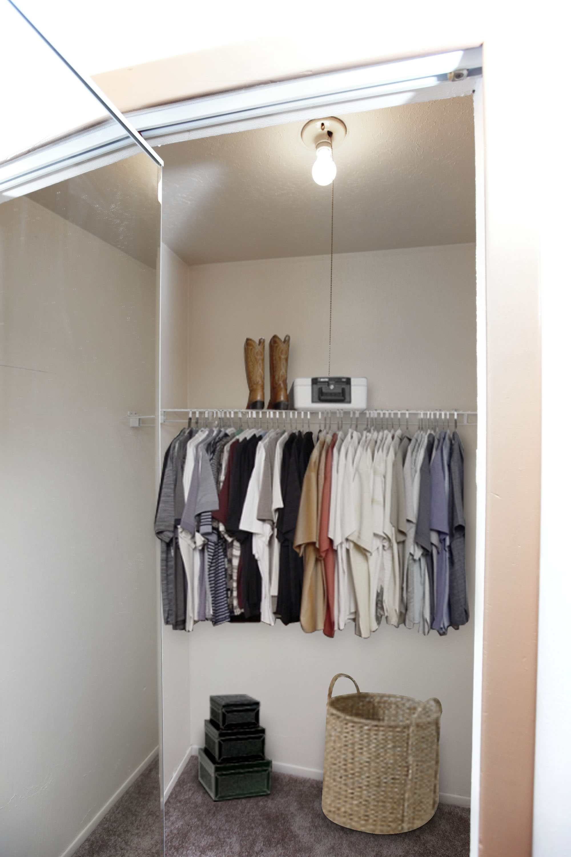2C Walk-in Closet at the Greenridge on Euclid Apartments in Euclid, OH