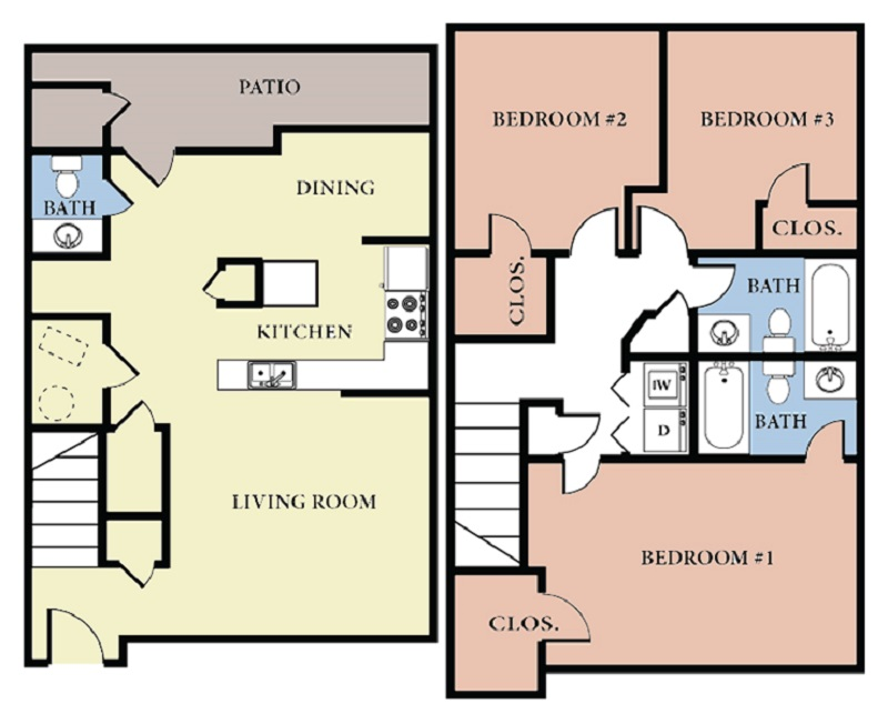 Informative Picture of 3 Bedroom - C