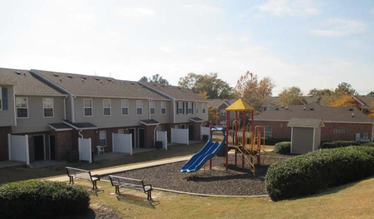Playgroundat the Greens At Stonecreek Apartments in Lithonia, GA