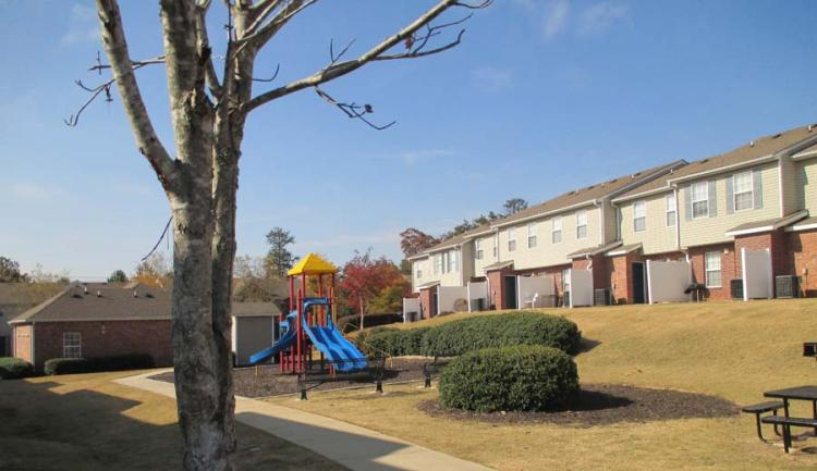 Playground at the Greens At Stonecreek Apartments in Lithonia, GA