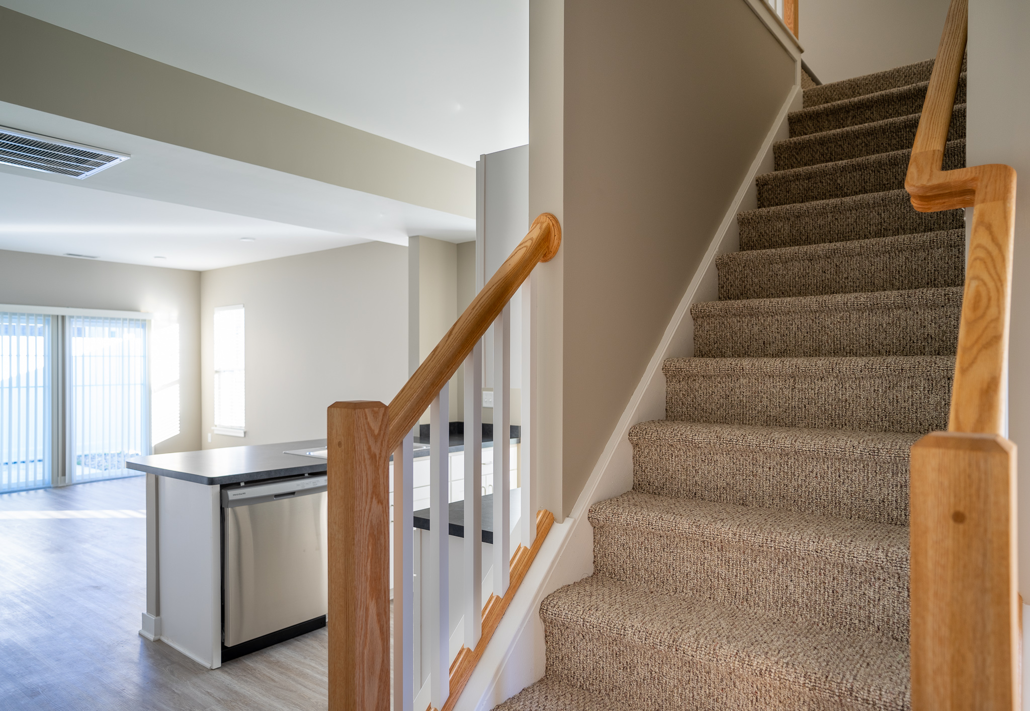 Green Wood Park Townhouses and Apartments - Floorplan - 3 Bedroom 3 Bath Townhouse