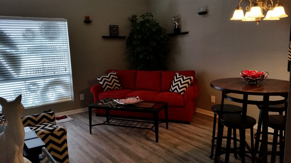 Spacious Floor Plans at Grove on Gladstell Apartments in Conroe, Texas