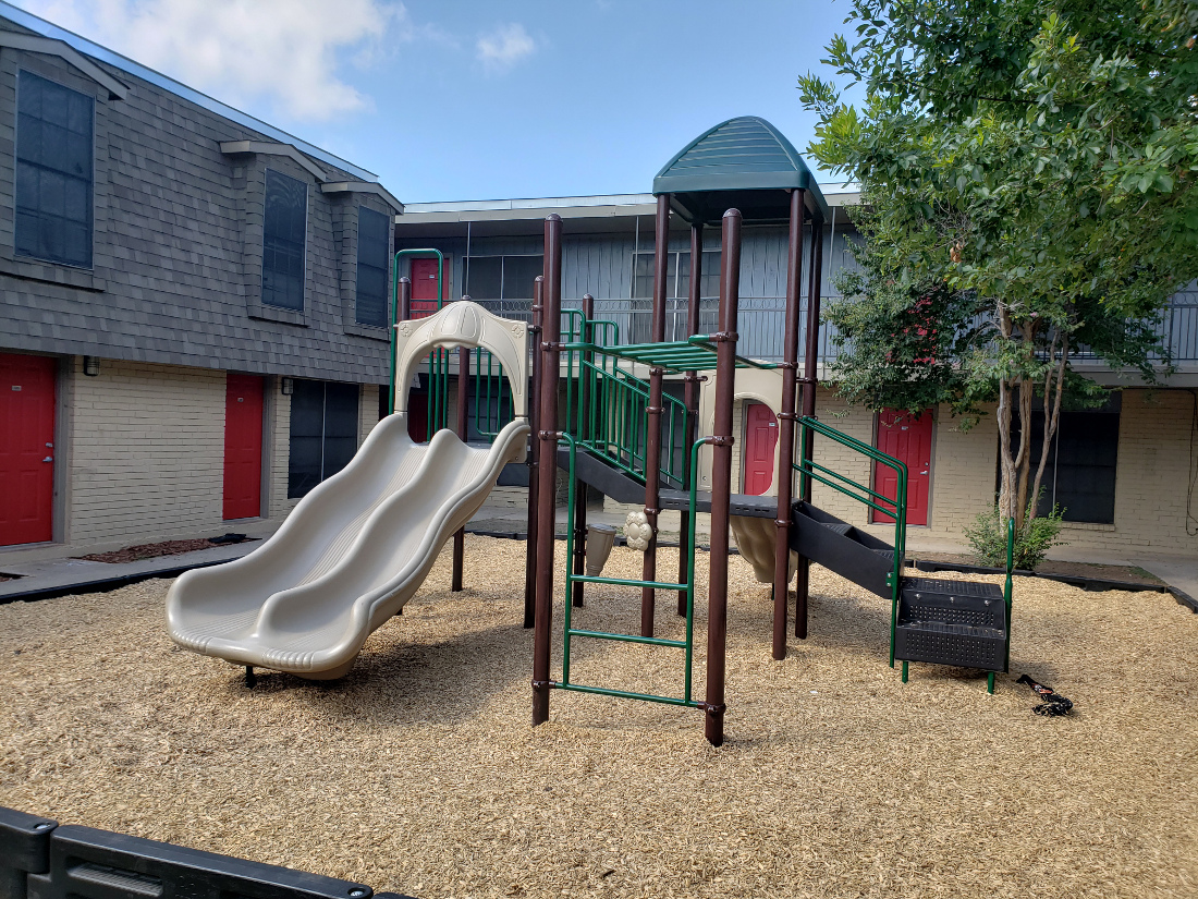 Playground at Hamilton Place Apartments in San Antonio, Texas