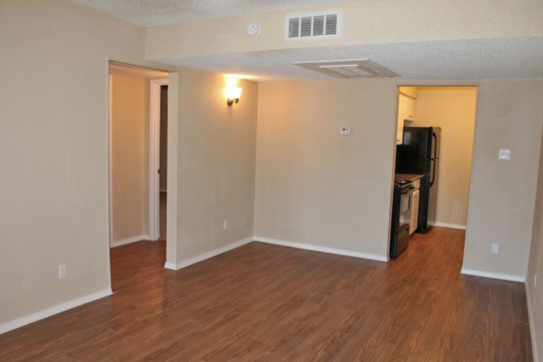 Hardwood Flooring at Hamilton Place Apartments in San Antonio, Texas