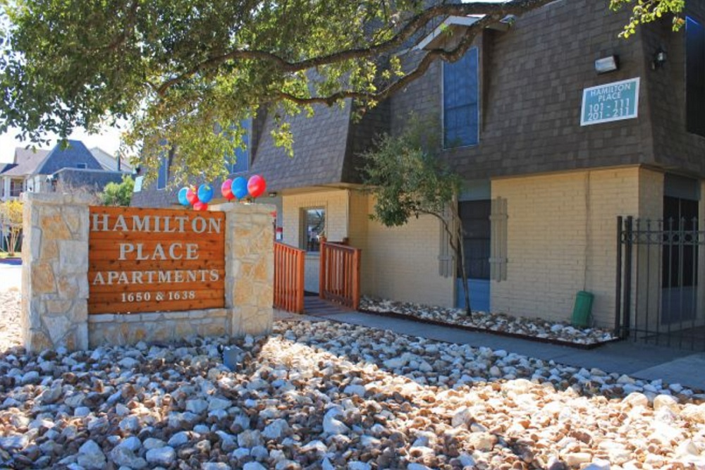Professional Management Staff at Hamilton Place Apartments in San Antonio, Texas