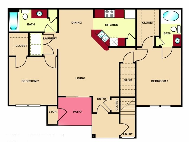 The Hamlins at Cedar Creek Lake - Floorplan - Vienna