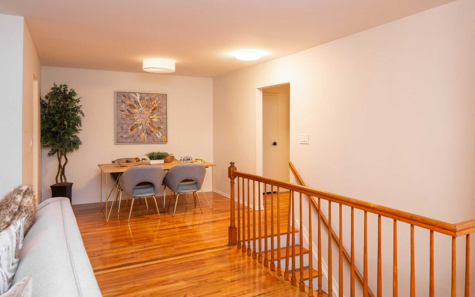 Hardwood Flooring at Hampton Gardens Apartments in Middlesex, New Jersey