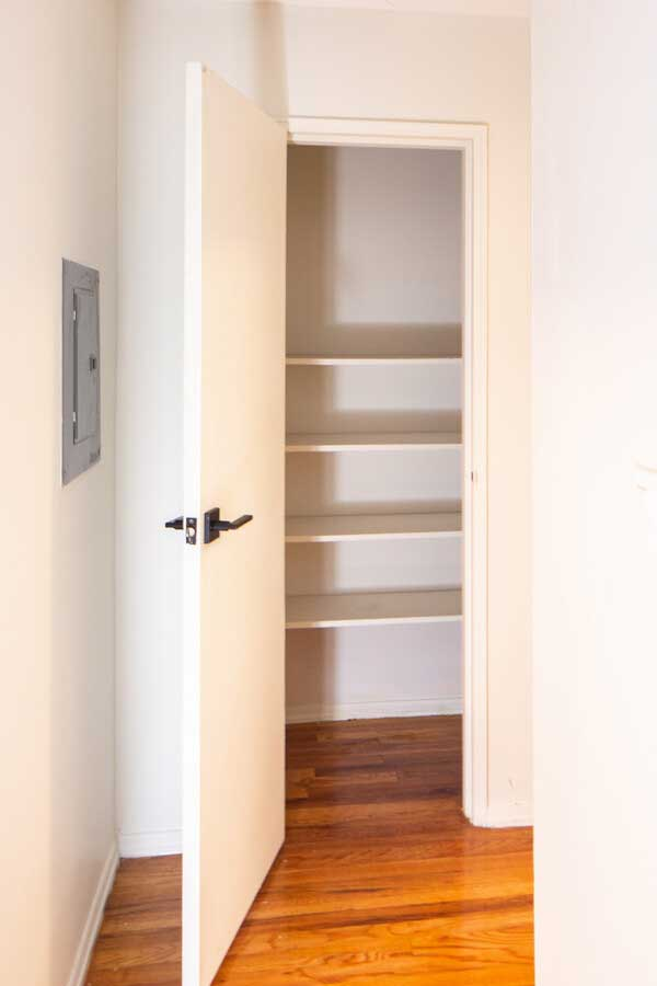 Walk IN Closet at Hampton Gardens Apartments in Middlesex, New Jersey