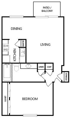 Avanti on Central - Floorplan - A2