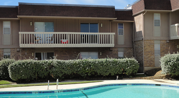 Pool View at The Avanti on Central Apartments in Bedford, TX
