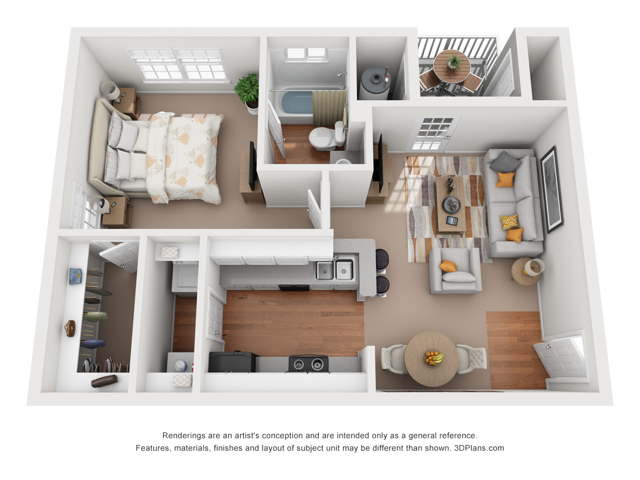 Floorplan - The Cape Cod image