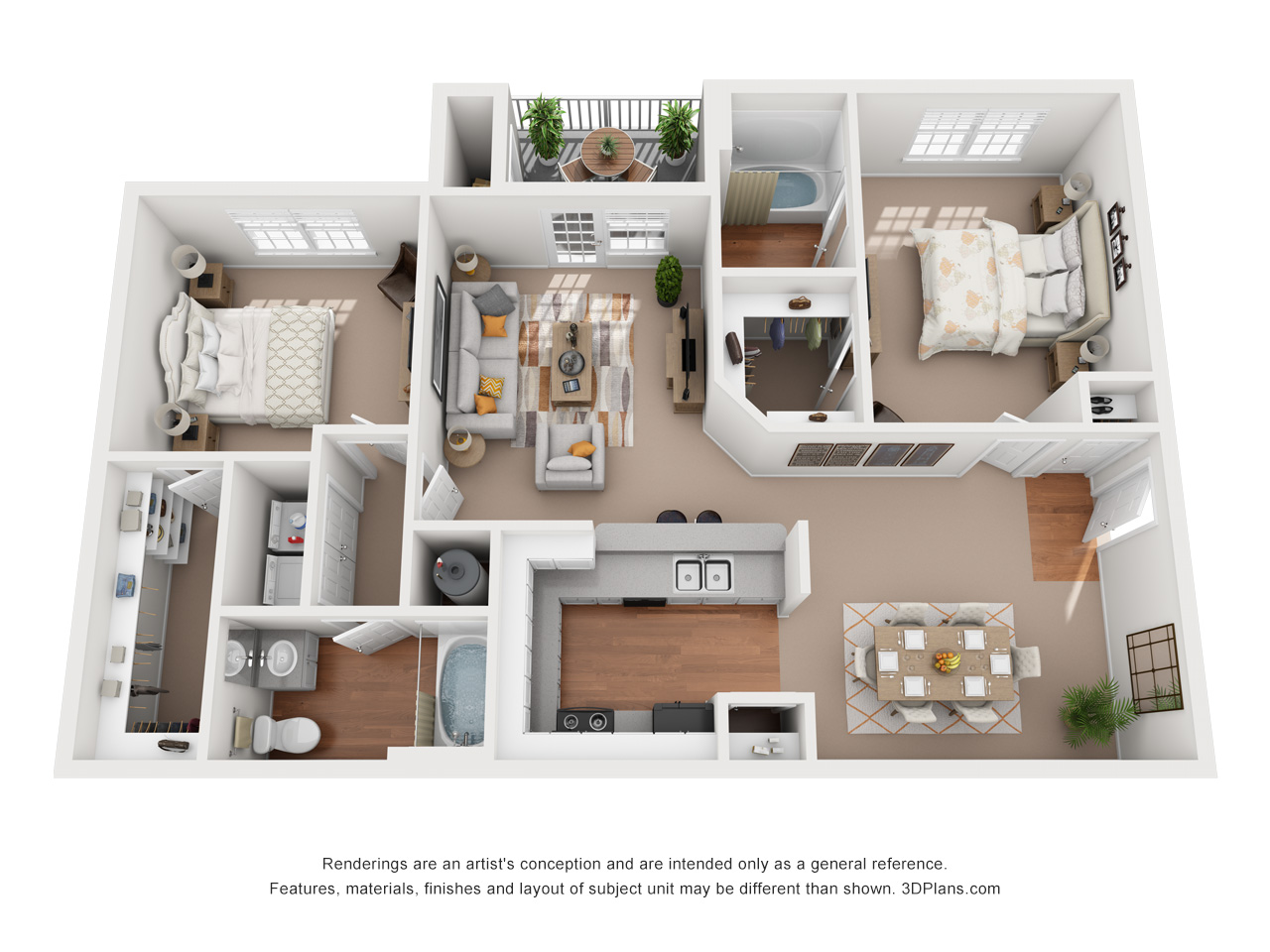 Floorplan - The East Hampton image