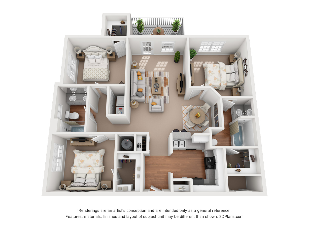 Floorplan - The Nantucket image