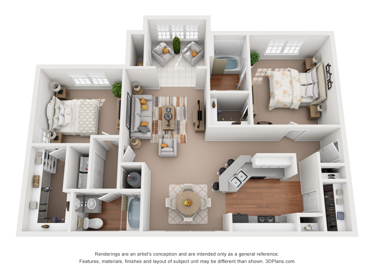 Floorplan - The South Hampton image