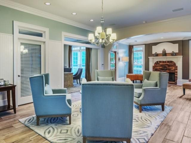 Stylish Interiors at The Hamptons at East Cobb Apartments in Marietta, Georgia